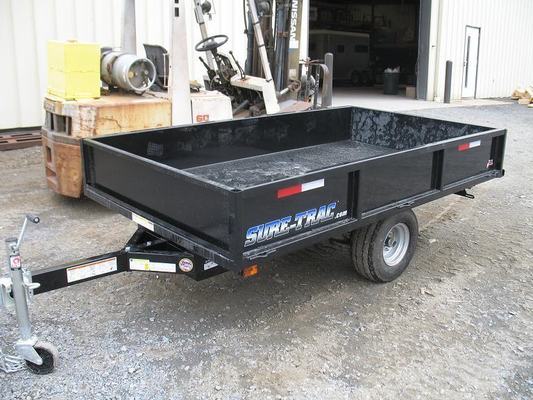 Sure-Trac 4.5 X 8 Utility Dump Trailer