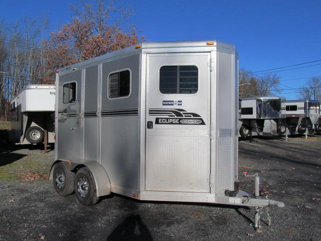 2014 Eclipse 2H Straight Load Horse Trailer