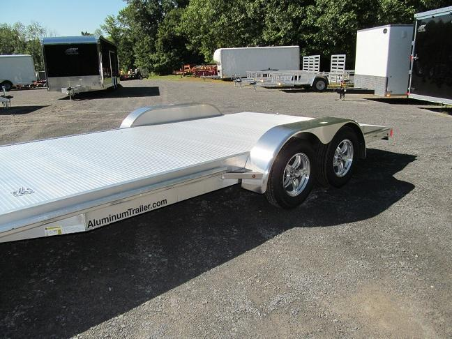 Model Flatbed Racing Trailer | Autos Post
