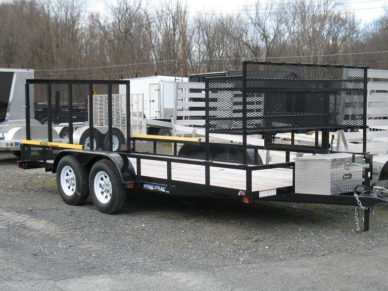 Sure-Trac Open Trailer Landscape Options Utility Trailer
