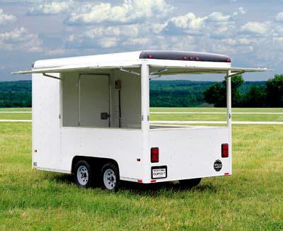 Wells Cargo CLW Series (7 Wide) Vending/ Concesion Trailer