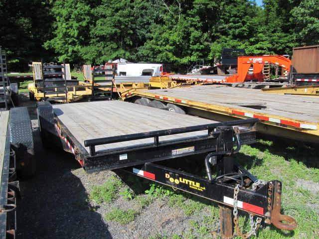 2015 Doolittle 20 Ft BW Equipment Trailer