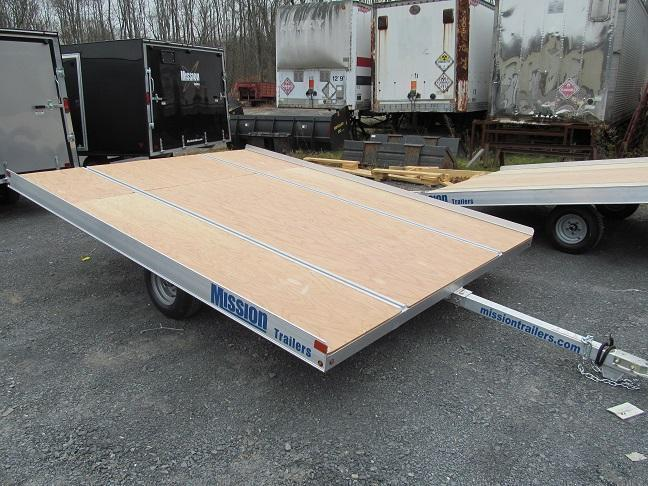 Mission 101 x 11 Open Duralite Snowmobile Trailer