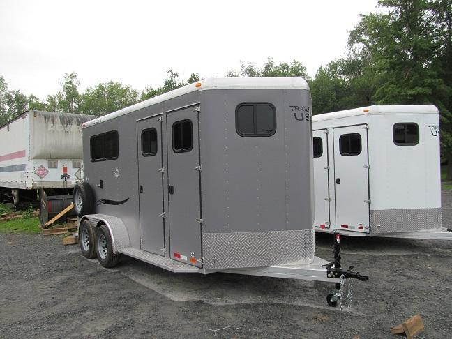 2018 Trailers USA Patriot 2HBP w/ DR
