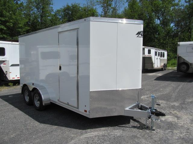 2018 ATC 7 X 14 Wedge Front Raven All Aluminum Enclosed Trailer