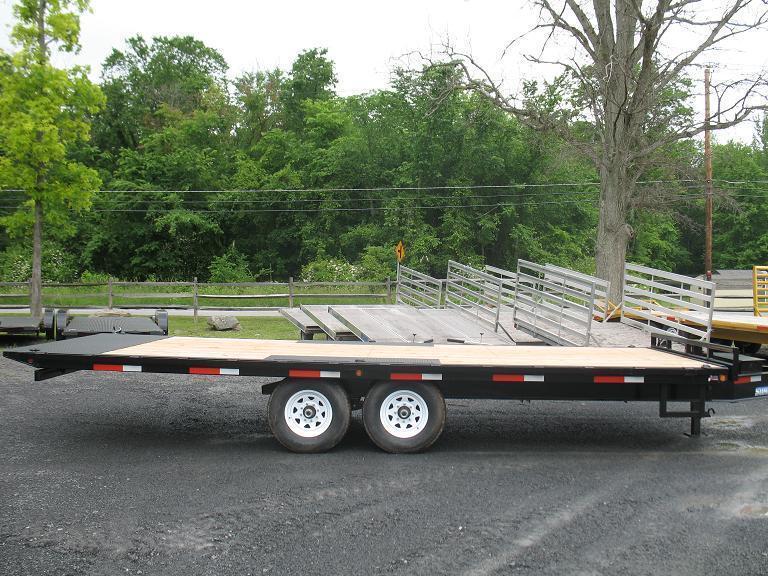 Sure-Trac Power Tilt Deckover Equipment Trailers