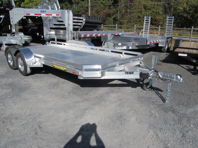 2018 Aluma 7816 Open Car Trailer