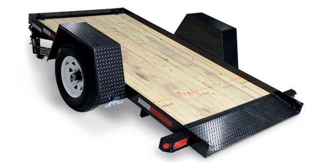 Sure-Trac Pan Tilt Equipment Trailers
