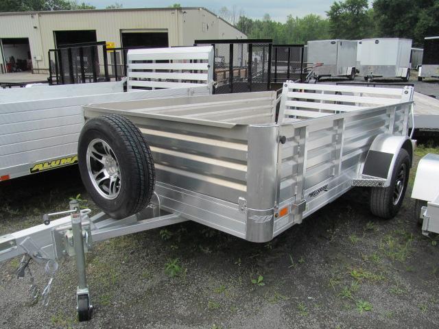 2017 Hillsboro Industries 6 x 10 Aluminum Solid Side Utility Trailer