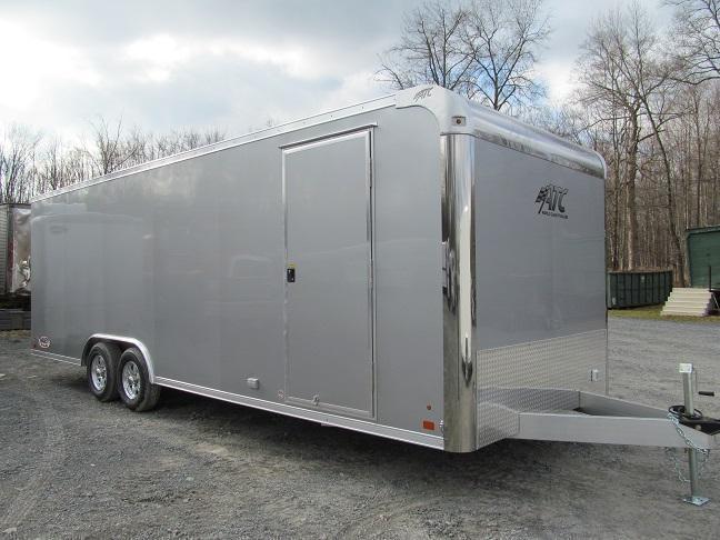 2018 Aluminum Trailer Company 8.5 X 24 CH Plus w/ Premium Escape Door