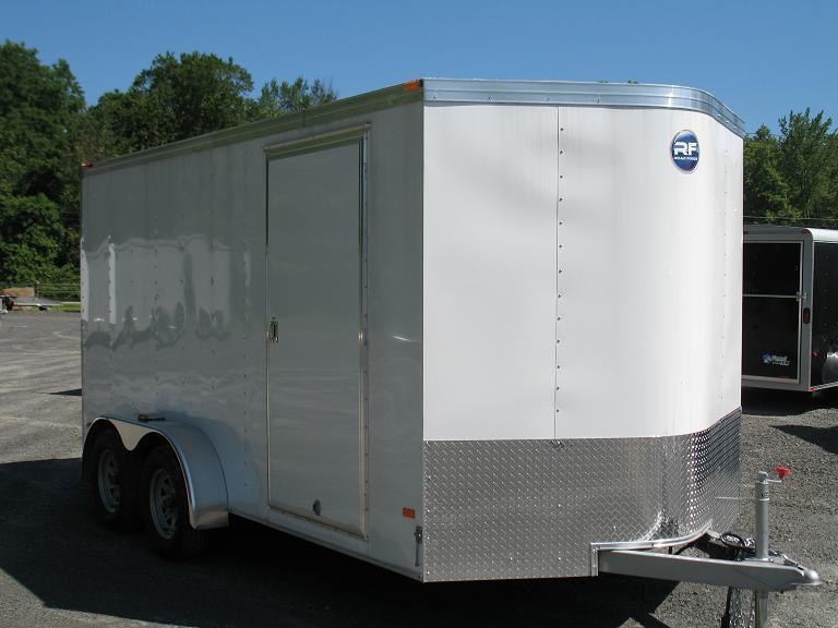 Wells Cargo Road Force V-Front (7 Wide) Cargo / Enclosed Trailer