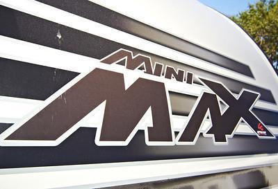 2019 Little Guy Mini Max White/Black Trim