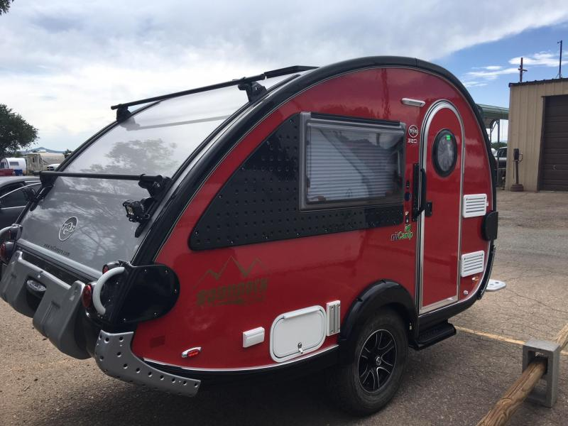 2019 nuCamp Boondock Edge Red/Black Trim