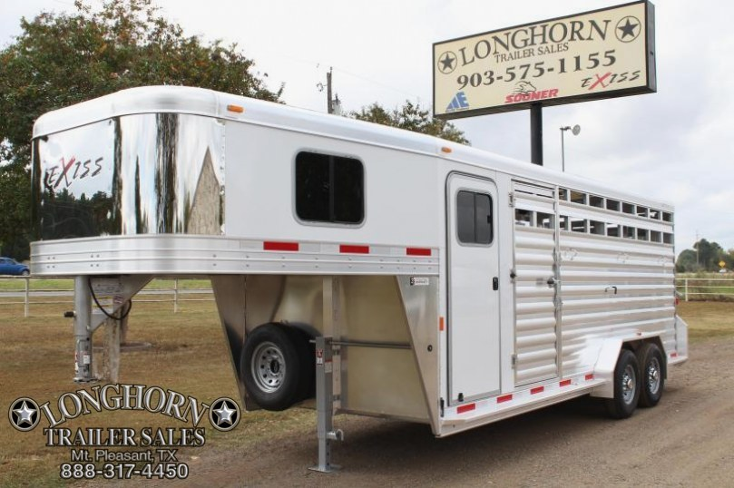 2018 Exiss Trailers 20 Stock Combo 7'2'' Tall- Insulated Roof
