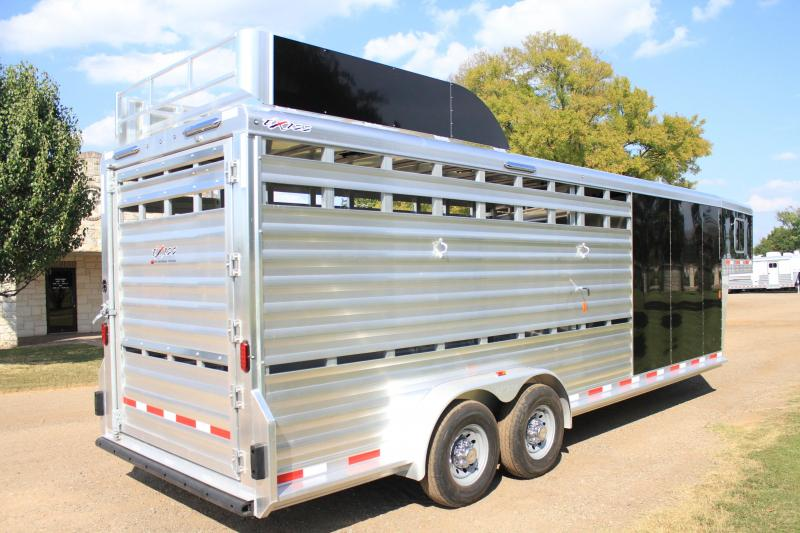 2018 Exiss Trailers Roper Deluxe with Hydraulic Jack
