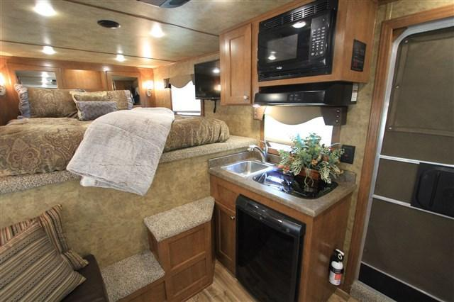 2018 Exiss Trailers 8' Living Quarter Stock Back