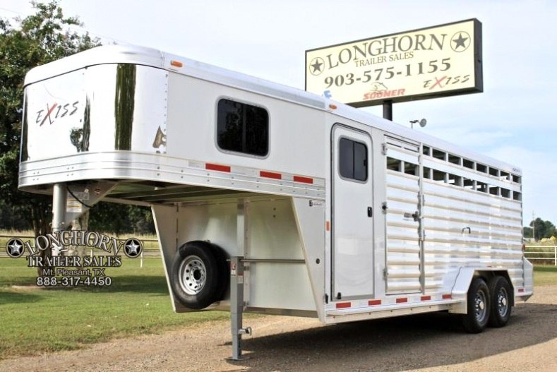 2018 Exiss  20' Stock Combo 72'' Tall with Saddle Rack