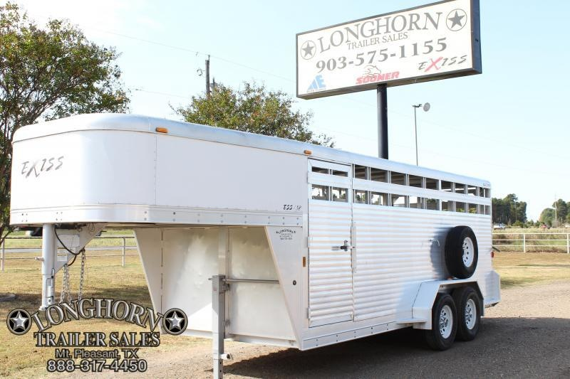 2006 Exiss18ft x 6.8ft All Aluminum Stock Trailer