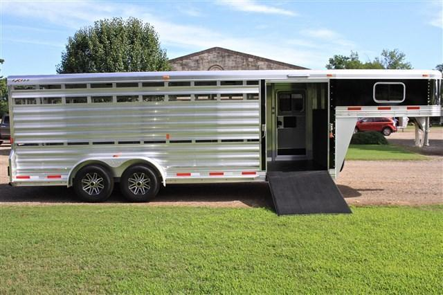 2018 Exiss Trailers  21' stock combo w/ side ramp