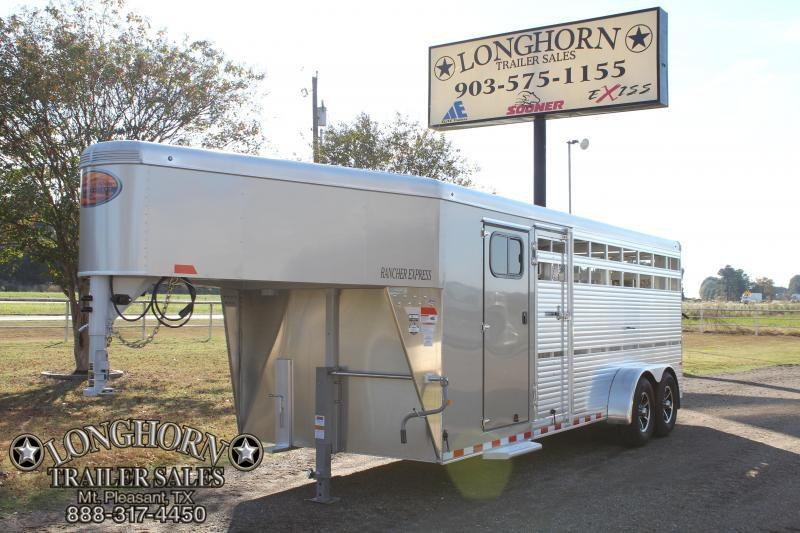2018 Sundowner 21ft Show Cattle Combo with V-Nose