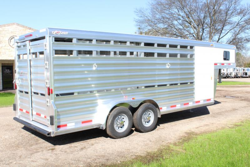 2018 Exiss 20ft Stock Combo with 4ft Tack Room Saddle Rack