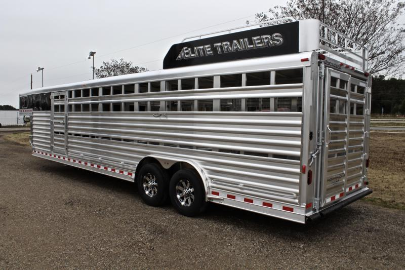 2018 Elite 30ft Show Cattle with Floating Cut Gate
