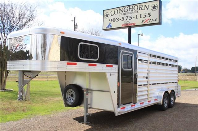 2017 Exiss Trailers 20' Stock Combo with 4' Dressing Room + Mats