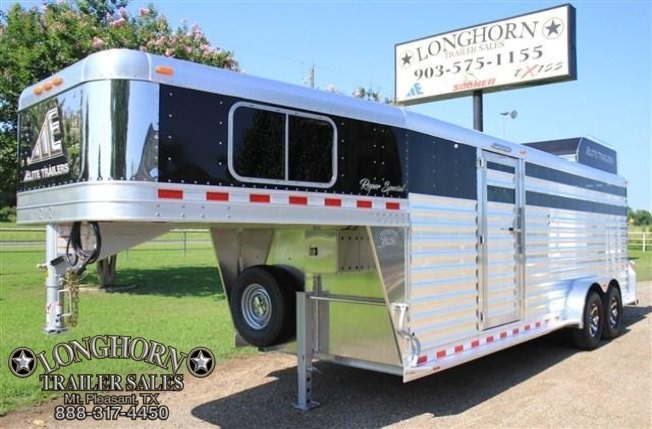 2018 Elite Trailers Roper Special by Longhorn Trailers Livestock Trailer