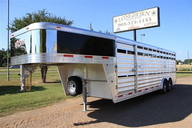 2017 Exiss Trailers 24 Show Stock - 8' Wide with Side Ramp
