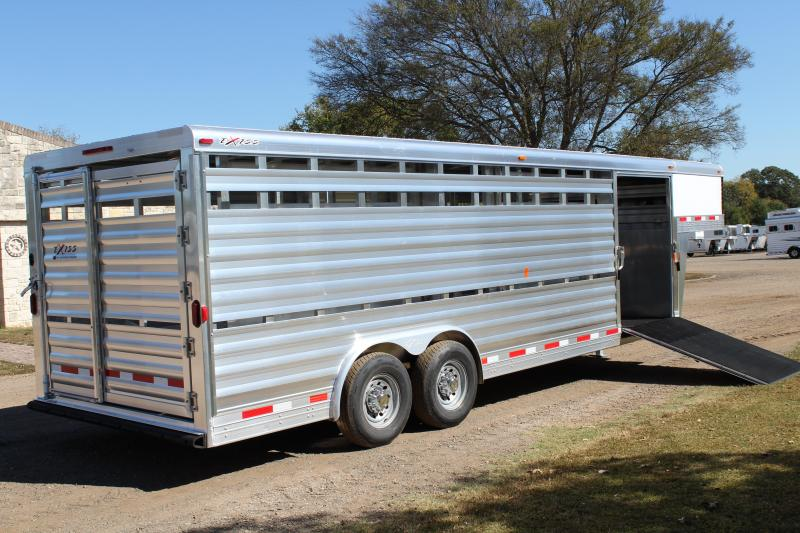 2018 Exiss  24' Show Stock - 8' Wide with Side Ramp