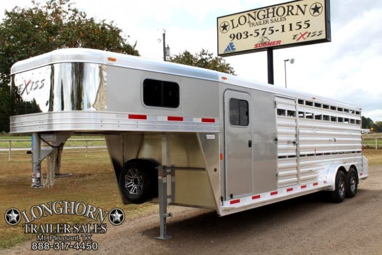 2018 Exiss 24FT Show Cattle with a 6 Tack and Ramp