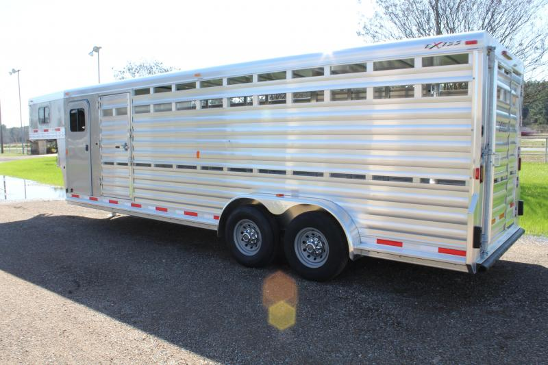 2018 Exiss 24ft with 4ft Tack Room and Saddle Rack