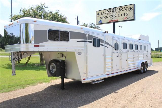 2007 Platinum 6 Horse Trainers Trailer with Mangers
