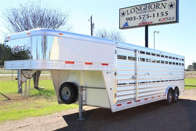 2018 Exiss Trailers 24' Show Stock- 8' Wide with Side Ramp *PolyLast*