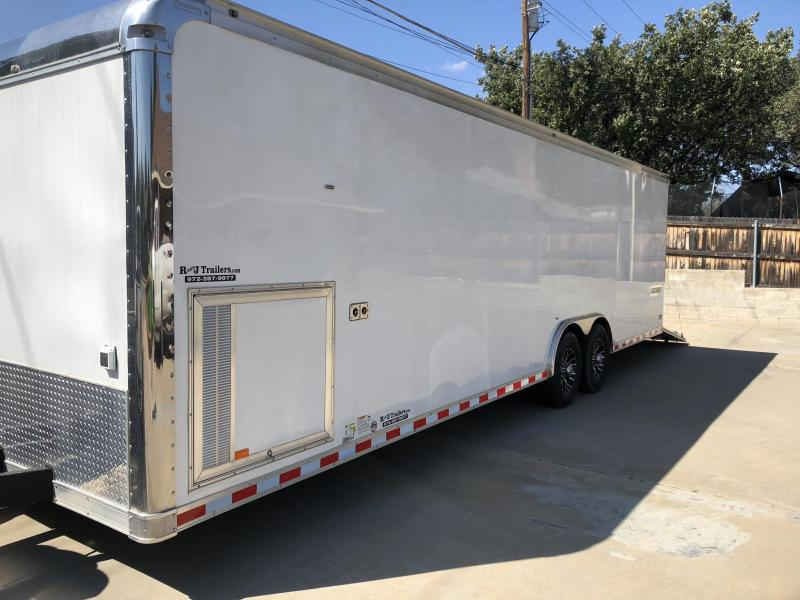 2016 Haulmark Edge Series 32' Car / Racing Trailer