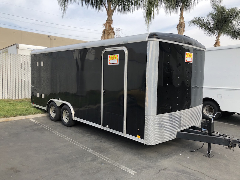 2014 Look Trailers 20 ft Enclosed Toy/Car Hauler