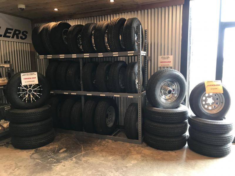 2018 TexLine 83 x 22 Bobcat Equipment Trailer