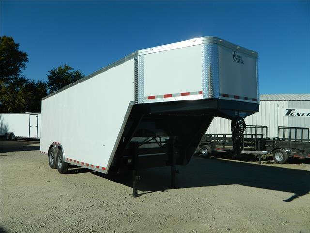 2018 Cargo Craft 8.5 x 28 Gooseneck Enclosed Cargo Trailer