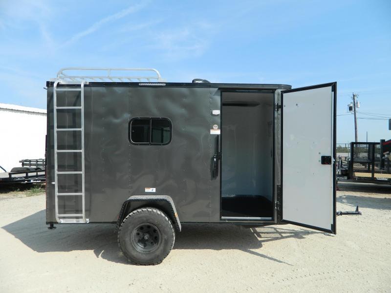 2017 Cargo Craft 6 x 12 Off Road Trailer ATV Trailer