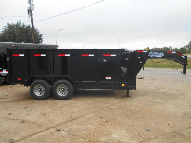 2018 Diamond C Trailers 82 x 14 21WD GN  Dump Trailer