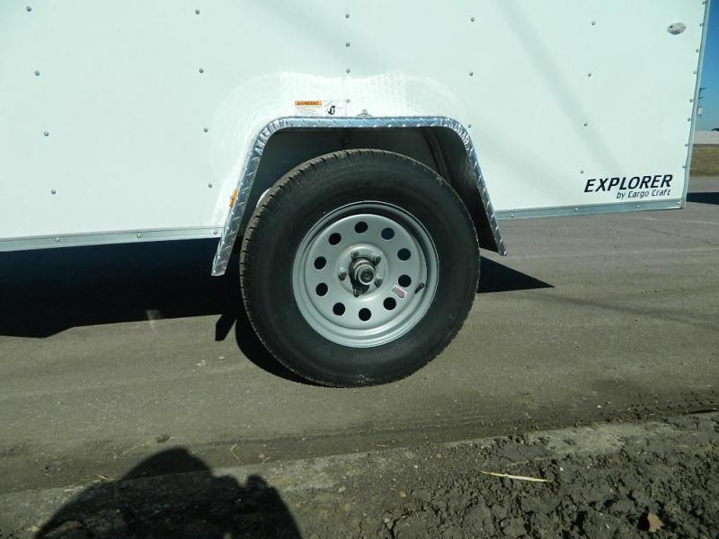 2017 Cargo Craft 5x10 Explorer Enclosed Cargo Trailer