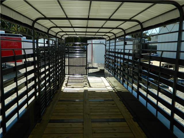 2017 TexLine 28 Cattle Utility Trailer