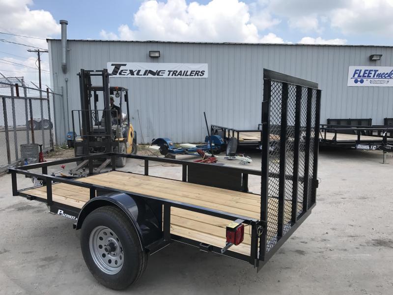 2018 TexLine 5 x 10 Patriot Utility Trailer