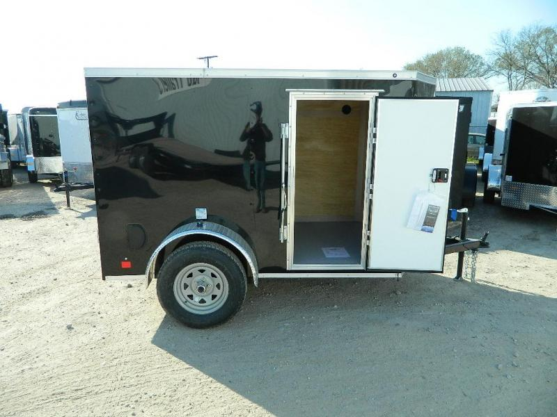 2018 Cargo Mate 5x8 LE Enclosed Cargo Trailer