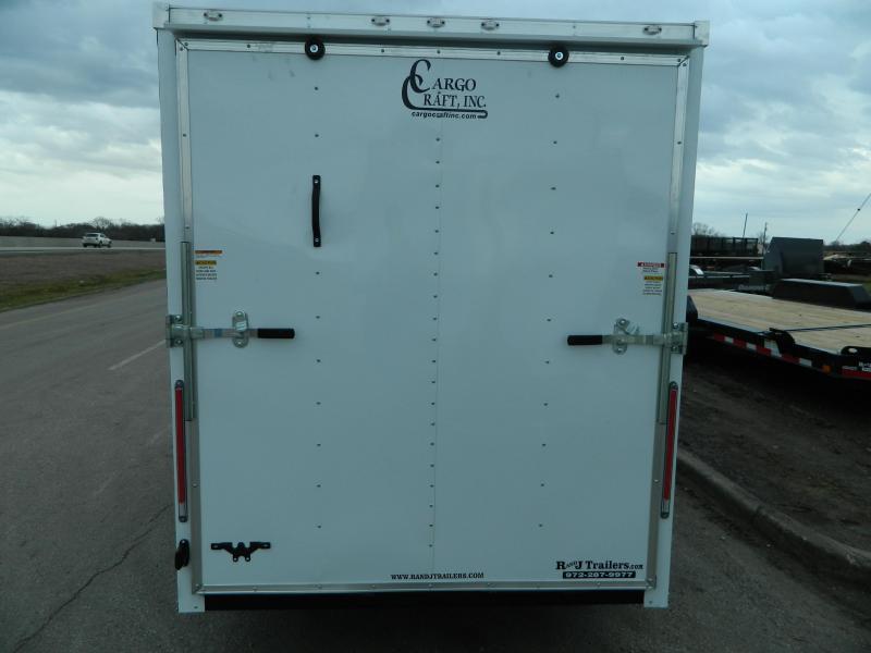 2018 Cargo Craft 6 x 12 Elite-V TA Enclosed Cargo Trailer