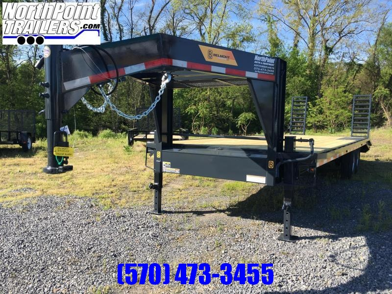 2017 Belmont Machine GN24-14K Deckover Equipment Trailer