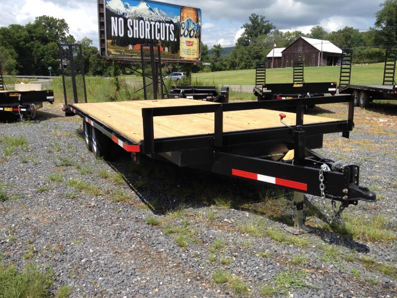 2018 TWF Mfg 20-U Deckover Equipment Trailer