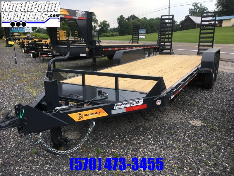 2017 Belmont Machine SS1018-14K Equipment Trailer
