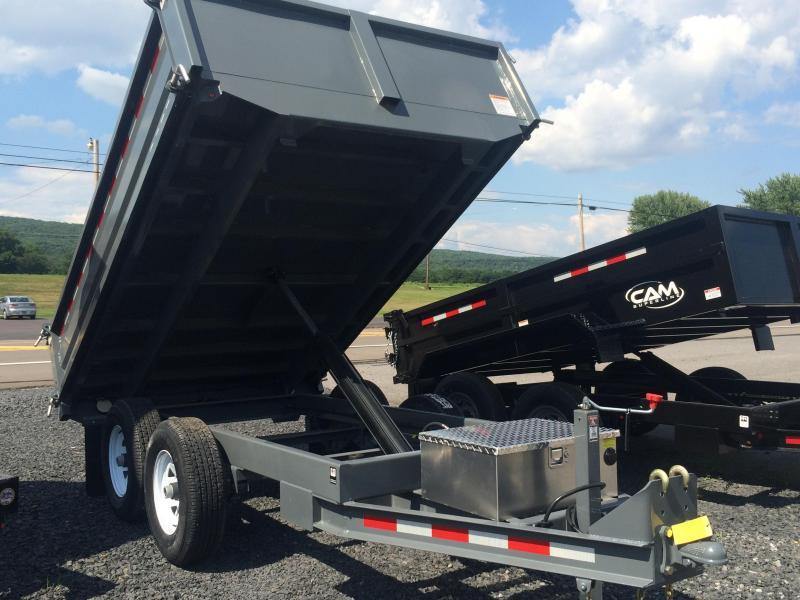 2018 CAM 5CAM610DODT - Gray Deckover Dump