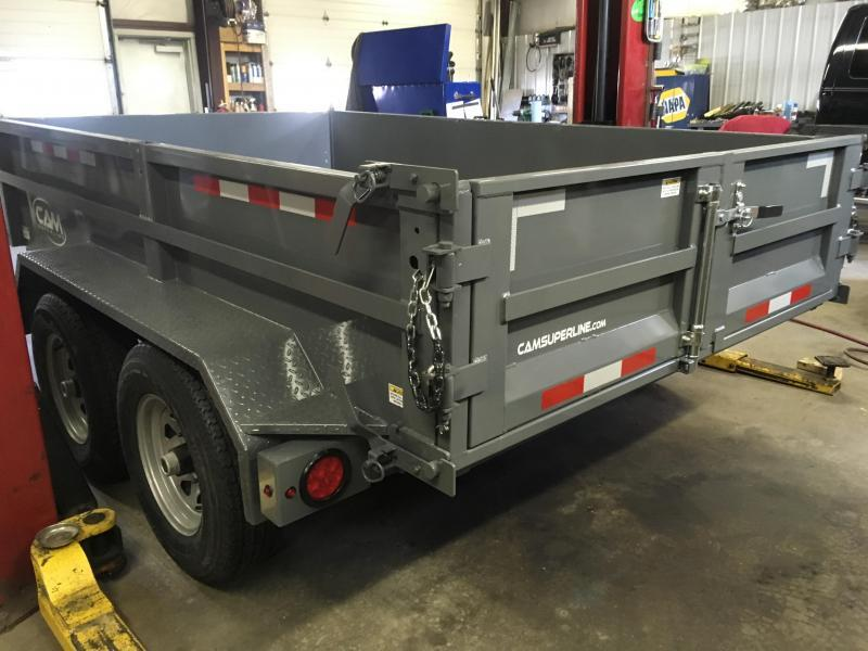 2017 CAM 5CAM610LPD - Gray w/ Steel Ladder Ramps
